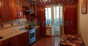 Снять однокомнатную  квартиру с современным ремонтом в Одинцово (рядом со станцией Одинцово) на ул. Маковского д.16, тел:+7(495)991-82-51