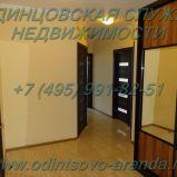 Снять трехкомнатную квартиру без мебели с хорошим ремонтом в Одинцово на ул. Садовая д.20, тел:+7(495)991-82-51
